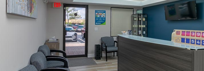 Chiropractic Coral Springs FL Reception
