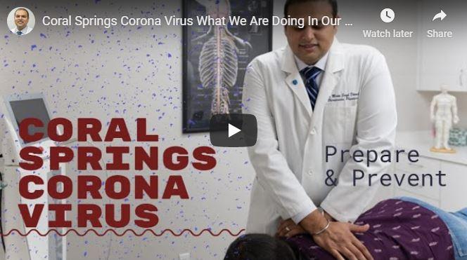 Corona Virus in Coral Springs FL