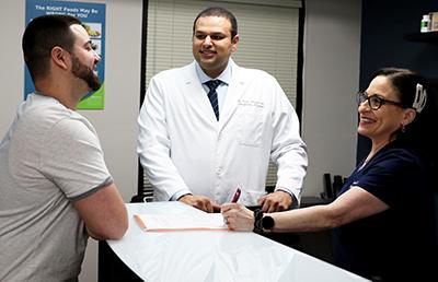 Chiropractor Coral Springs FL Dr. Maan Dhanjal Front Desk