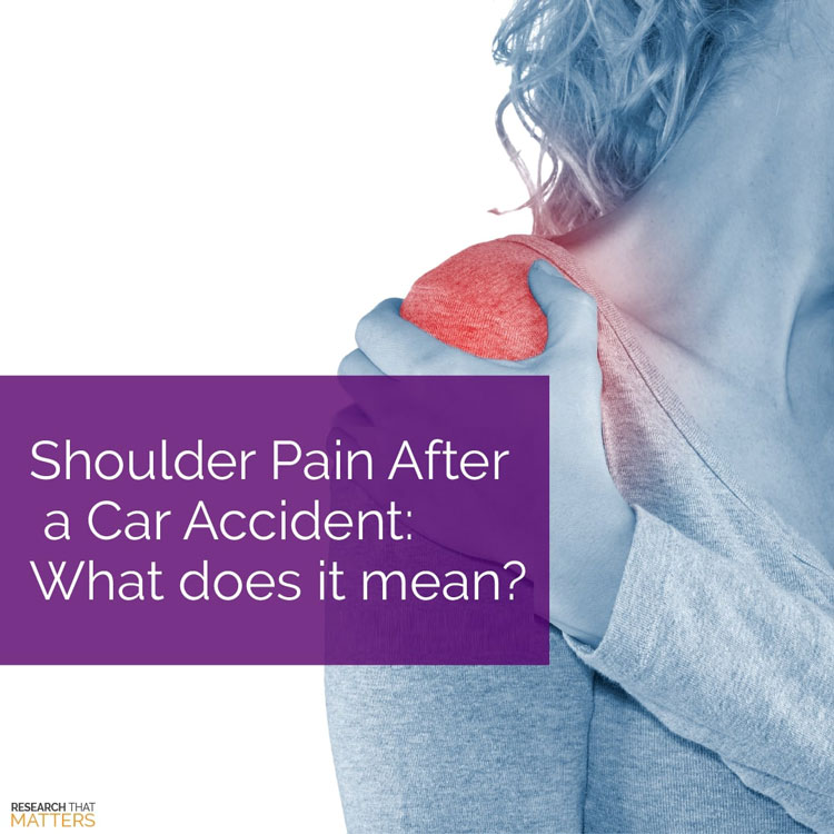 Chiropractic Coral Springs FL Shoulder Pain After An Auto Accident