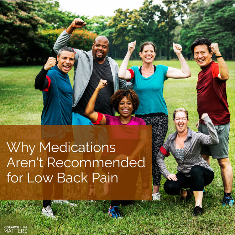 Chiropractic Coral Springs FL Medications and Low Back Pain